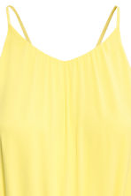 Chiffon dress - Yellow - Ladies | H&M CN 3