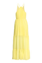 Chiffon dress - Yellow - Ladies | H&M CA 2