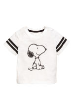 3-piece jersey set - Black/Snoopy -  | H&M 2