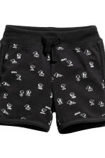 3-piece jersey set - Black/Snoopy -  | H&M 4