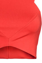 Short top - Red - Ladies | H&M CN 3