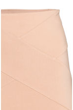 Jersey pencil skirt - Powder beige -  | H&M 3