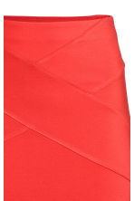 Jersey pencil skirt - Red -  | H&M CA 3
