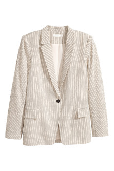 Pinstriped jacket