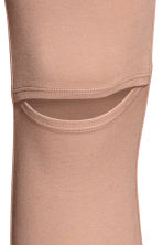 Cut-out leggings - Beige - Ladies | H&M 3