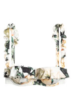 Patterned bikini - White/Floral - Ladies | H&M GB 3