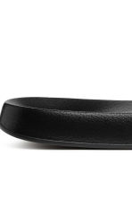 Slides - Black - Ladies | H&M CN 4