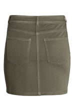 Short twill skirt - Khaki green - Ladies | H&M 3