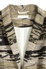 Textured jacket - Khaki/Patterned -  | H&M 3
