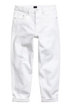 Relaxed jeans - White denim - Men | H&M CN 2