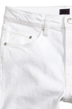 Relaxed jeans - White denim - Men | H&M 4