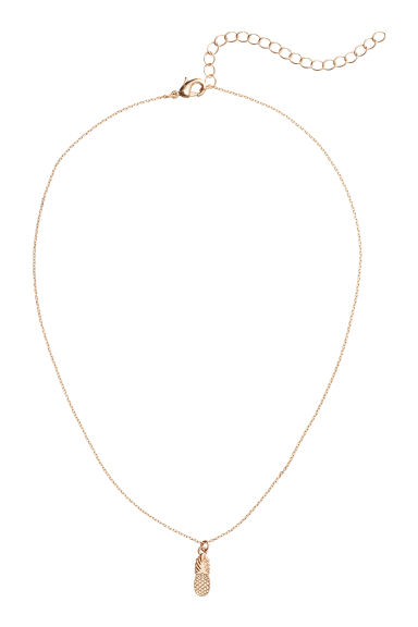 Necklace with a pendant - Gold - Ladies | H&M CN