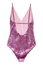 Crushed velvet body - Pink - Ladies | H&M 3