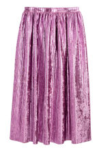 Pleated skirt - Pink - Ladies | H&M CN 2