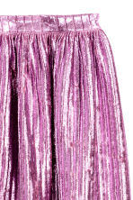 Pleated skirt - Pink -  | H&M GB 3