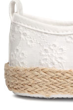 Embroidered trainers - White - Kids | H&M CN 3