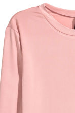 Cropped top - Dusky pink - Ladies | H&M 2