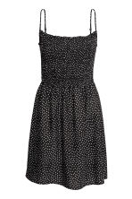 Smocked dress - Black - Ladies | H&M CN 2
