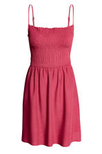 Smocked dress - Raspberry red - Ladies | H&M CA 2