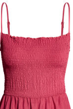 Smocked dress - Raspberry red - Ladies | H&M CA 3