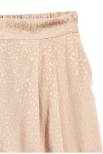 Jacquard-weave shorts - Light beige -  | H&M 3