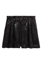 Jacquard-weave shorts - Black - Ladies | H&M 2