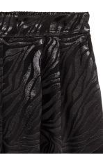 Jacquard-weave shorts - Black - Ladies | H&M 3