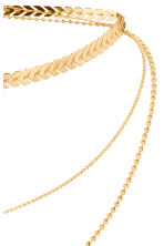 Three-strand necklace - Gold - Ladies | H&M CN 2