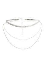 Three-strand necklace - Silver - Ladies | H&M 1