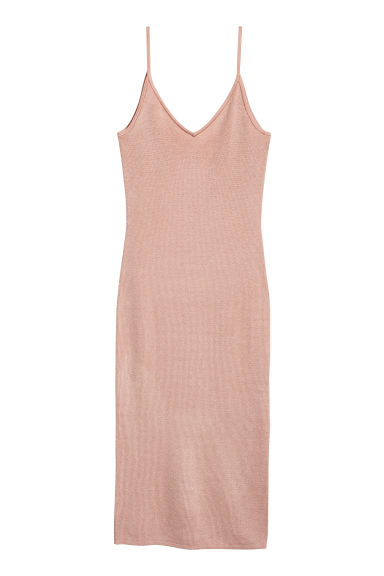 Fitted dress - Powder - Ladies | H&M CN 1