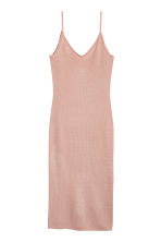 Fitted dress - Powder - Ladies | H&M 2