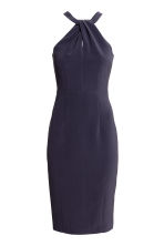 Fitted dress - Dark blue -  | H&M 2