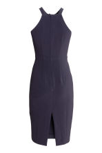 Fitted dress - Dark blue -  | H&M 3