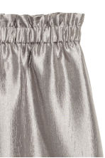 Crinkled skirt - Silver - Ladies | H&M CN 3