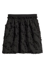 Jacquard-patterned skirt - Black - Ladies | H&M 2