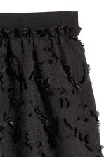 Jacquard-patterned skirt - Black - Ladies | H&M 4