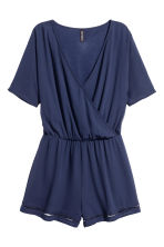 Playsuit - Dark blue - Ladies | H&M 2