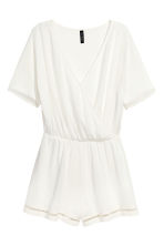 Playsuit - Wit -  | H&M BE 2