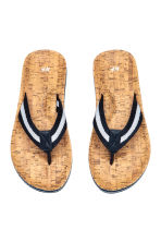 Flip-flops - Dark blue - Men | H&M 2