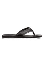 Flip-flops - Black - Men | H&M 1