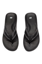Flip-flops - Black - Men | H&M 2