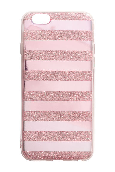 iPhone 6/6s case - Pink/Glittery -  | H&M