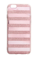 iPhone 6/6s case - Pink/Glittery - Ladies | H&M 1