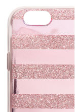 iPhone 6/6s case - Pink/Glittery - Ladies | H&M CN 2