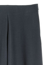 Long bell-shaped skirt - Dark blue - Ladies | H&M 3