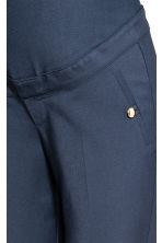 MAMA Cigarette trousers - Dark blue - Ladies | H&M 3