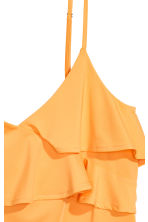 Flounced strappy top - Orange - Ladies | H&M 3