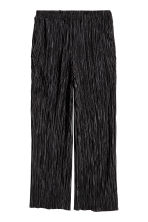 Pantaloni plissettati - Nero - DONNA | H&M IT 2