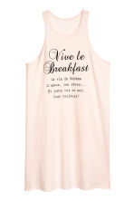 Jersey nightslip - Powder pink - Ladies | H&M CN 1