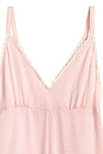 Satin playsuit - Powder pink - Ladies | H&M CN 3